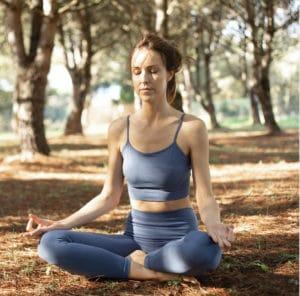Postura para meditar